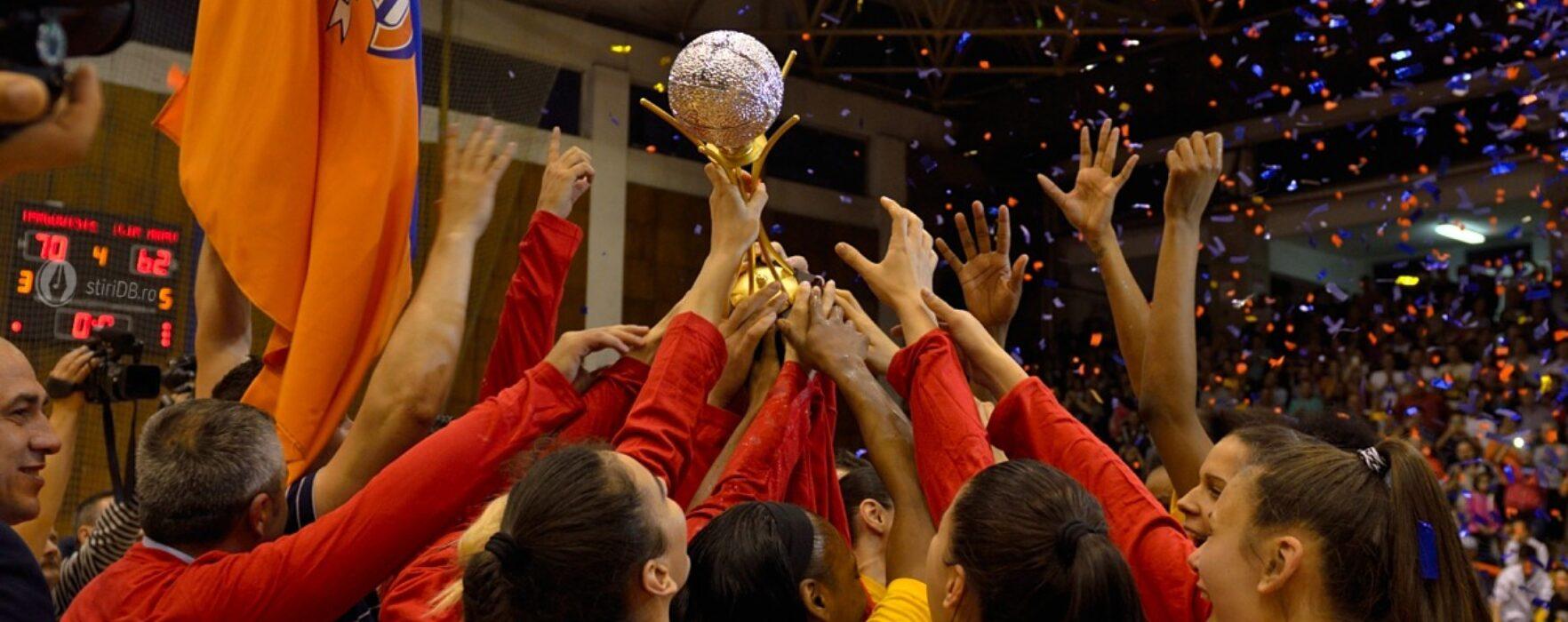 Baschet feminin: CSM Târgovişte, noua campioană a României