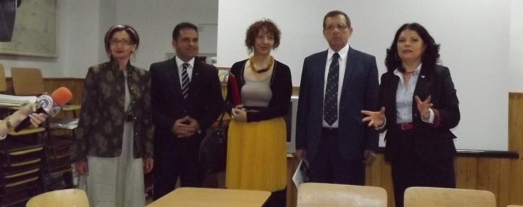 Au fost finalizate lucrările de reabilitare a Colegiului Constantin Cantacuzino din Târgovişte