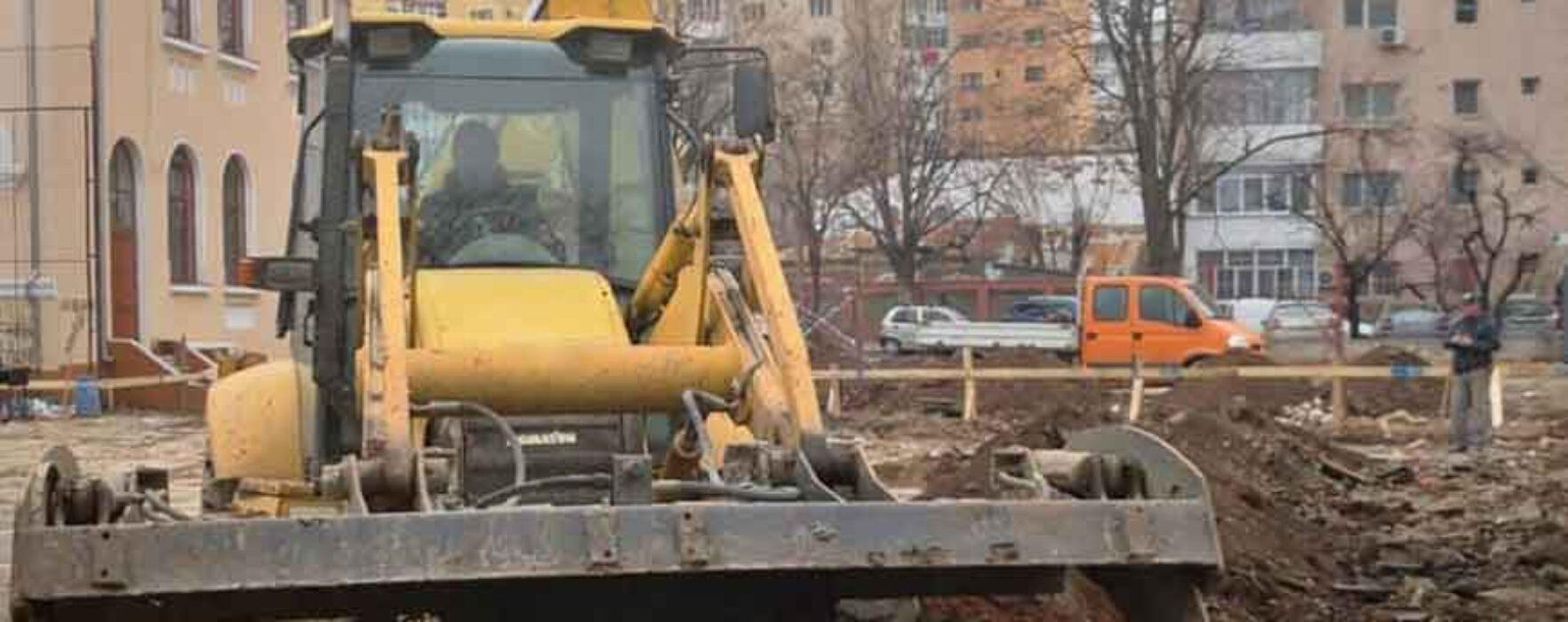Primarul Târgoviştei anunţă că de la începutul anului se lucrează la cinci investiţii la unităţi de învăţământ
