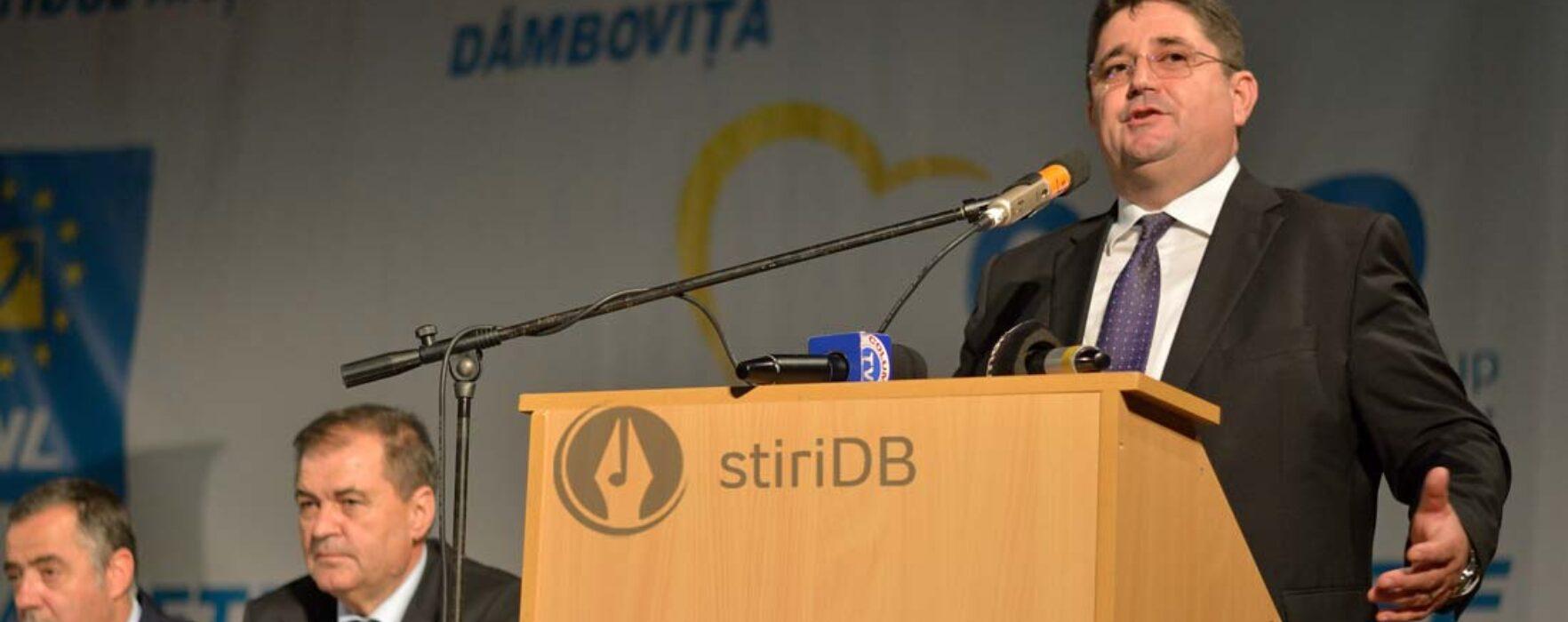 Dâmboviţa: Marius Caraveţeanu a demisionat de la şefia organizaţiei judeţene a PNL