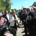 Dâmboviţa: Ministrul Carmen Dan s-a întâlnit la Văleni cu proprietarii caselor afectate de alunecările de teren