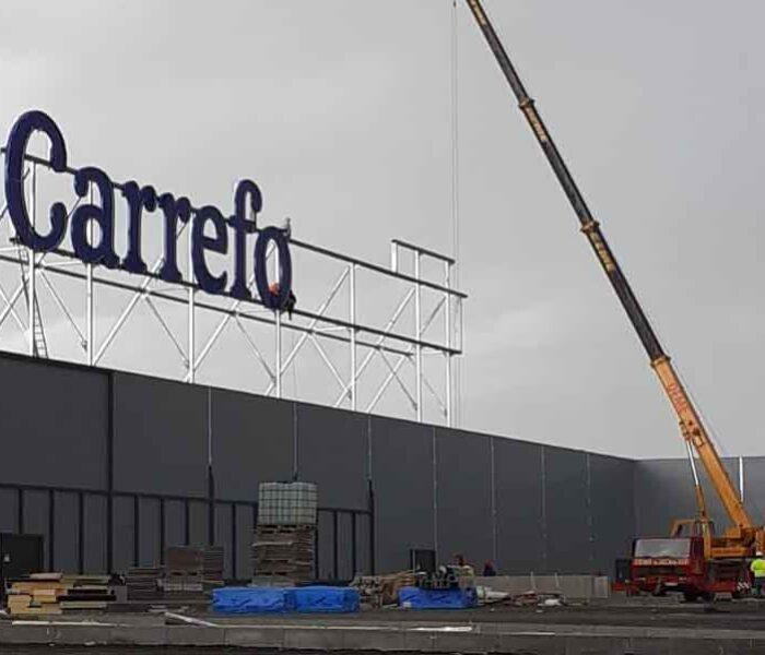 """Carrefour Târgovişte anunţă """"deschiderea în curând"""" a magazinului din Dâmboviţa Mall"""