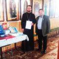 Arhiepiscopia Târgoviştei a dăruit cărţi unei biserici din Căuşeni, Republica Moldova
