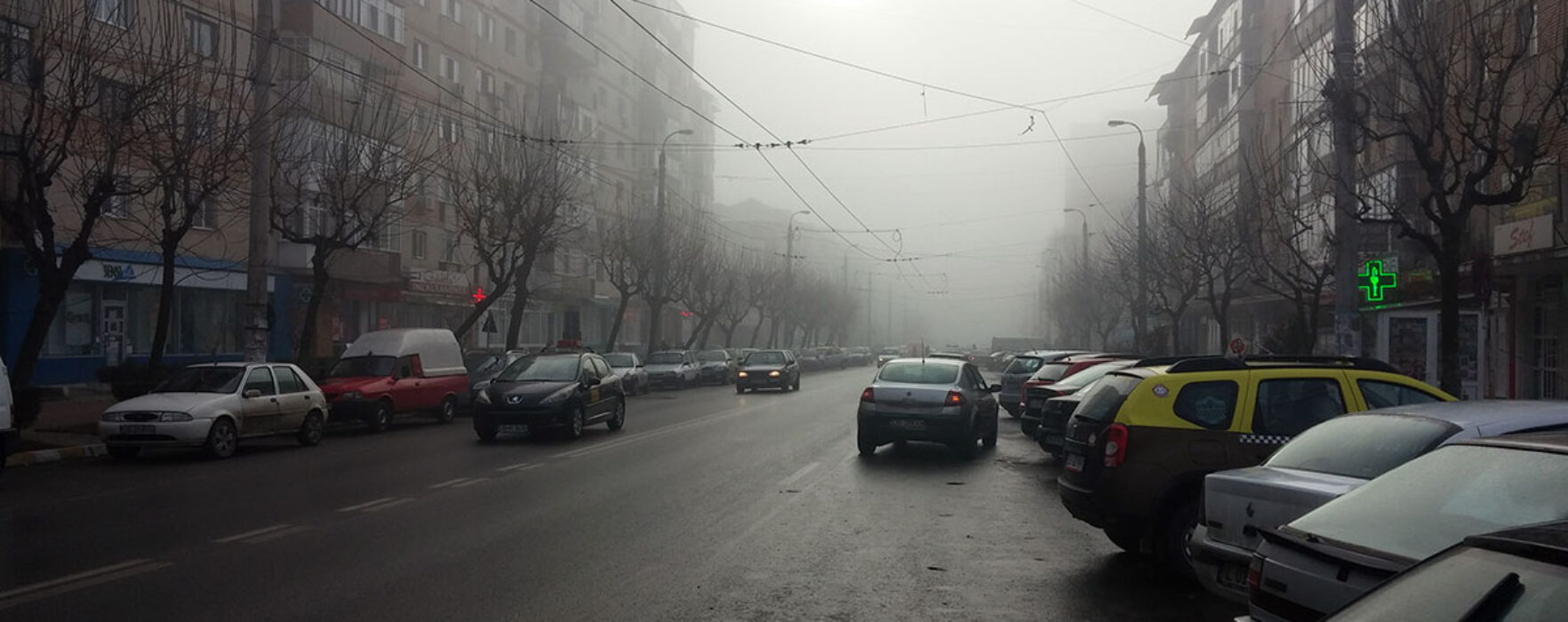 Dâmboviţa: Cod Galben de ceaţă
