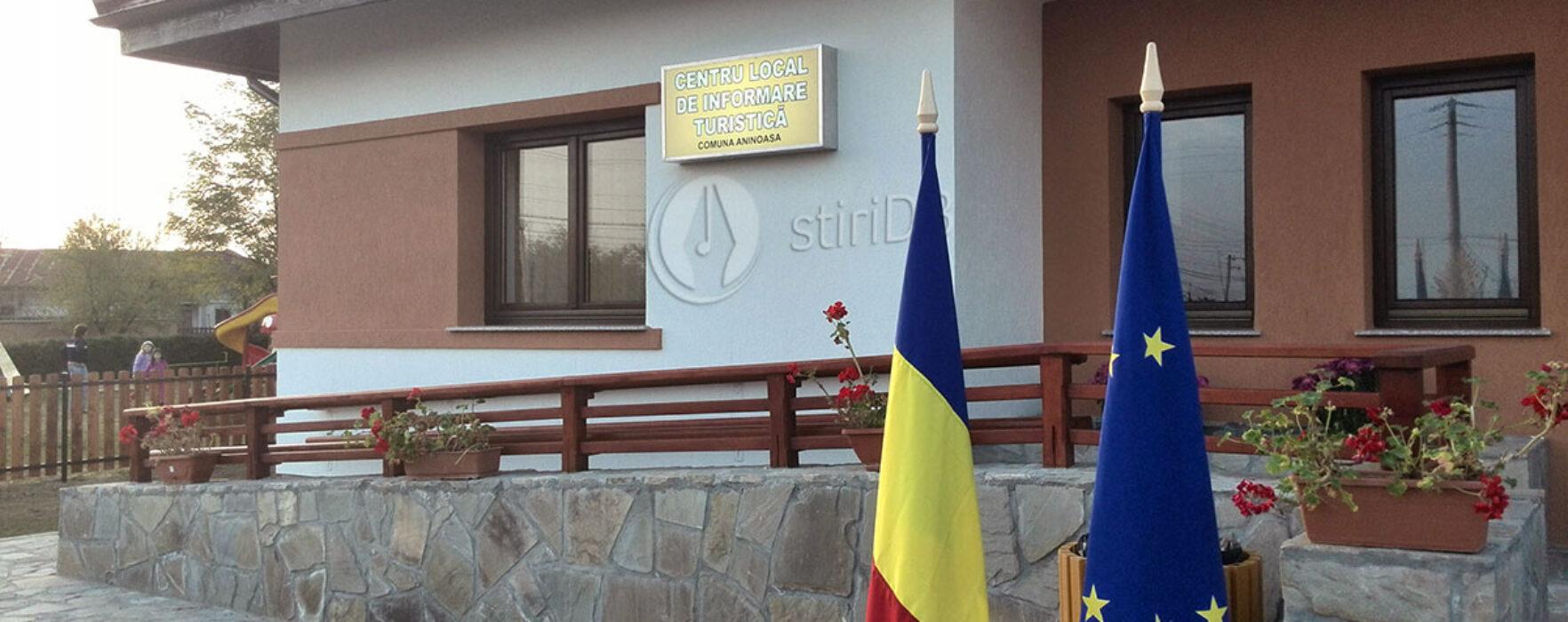 Centru de informare turistică, realizat cu bani europeni la Aninoasa