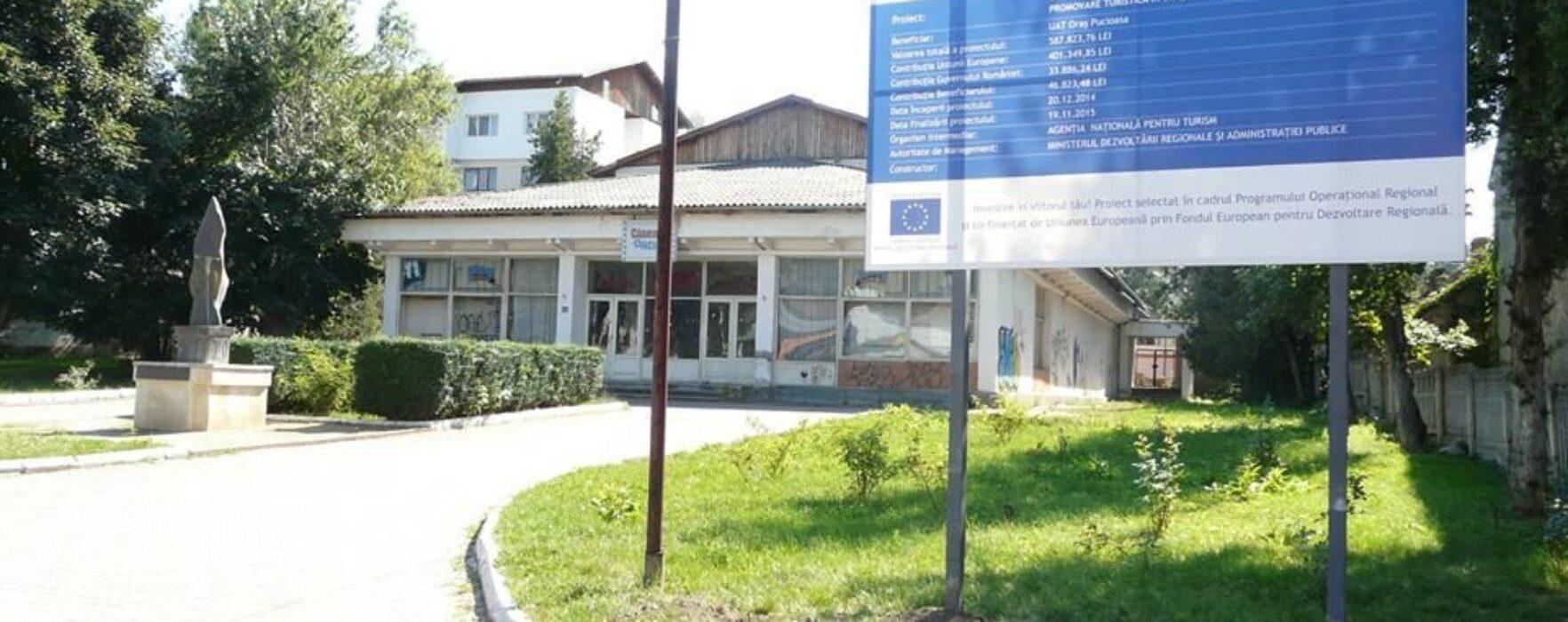 Pucioasa: Fostul cinematograf Dacia va fi reabilitat şi transformat în punct de informare turistică