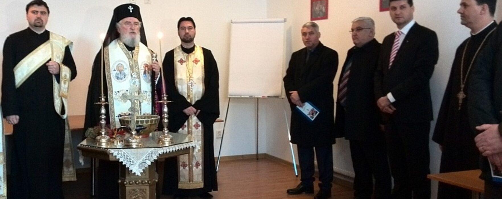 Arhiepiscopia Târgoviștei a inaugurat Centrul Social Creştin (video)
