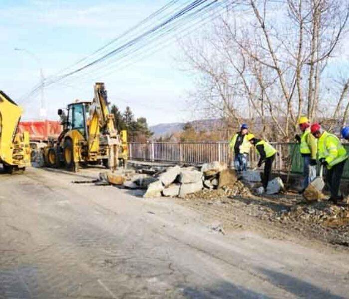 Primarul Târgoviştei: Lucrările la centura municipiului vor fi finalizate în acest an