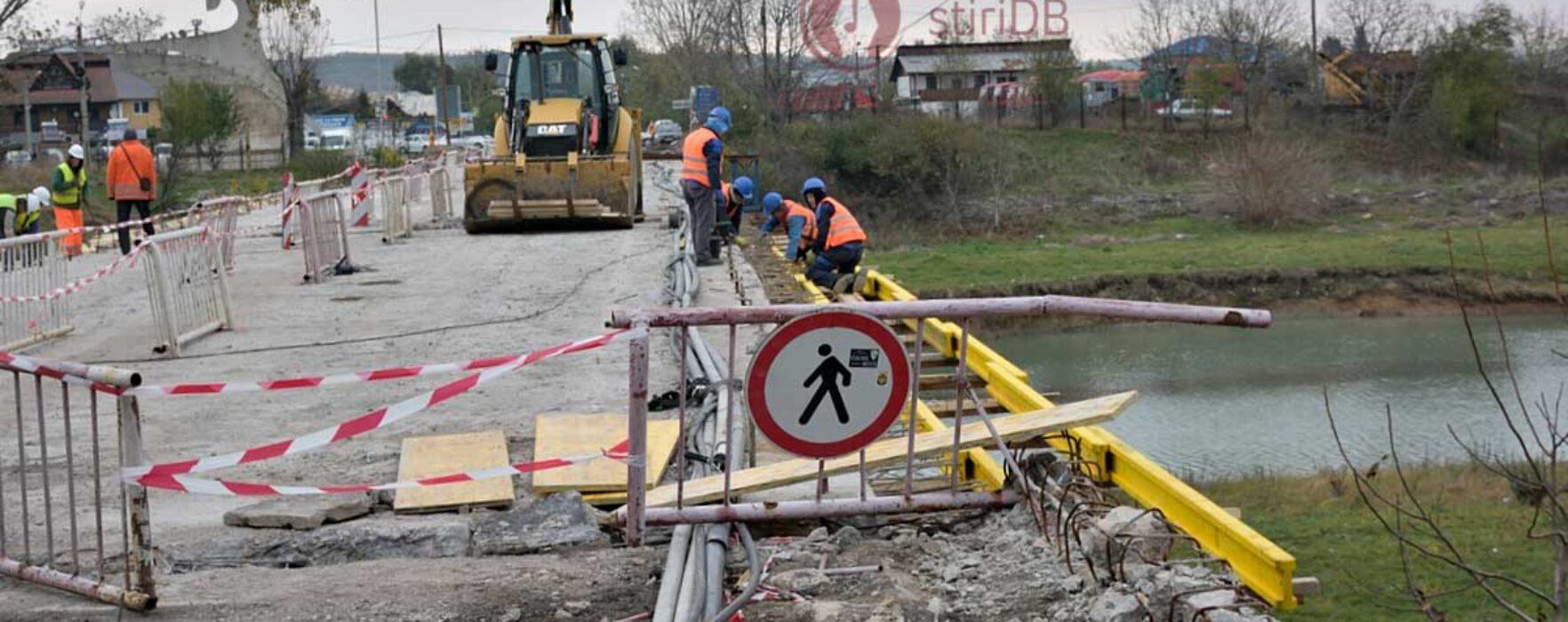 Primarul Târgoviştei anunţă că va rezilia contractul centurii şi va cere daune constructorului, dacă lucrările trenează