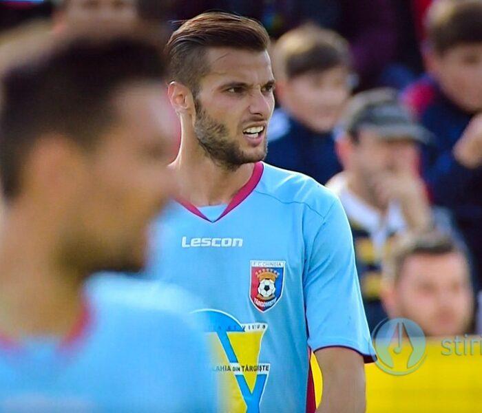 Fotbal: Victorie la scor pentru Chindia Târgovişte în Liga a II-a