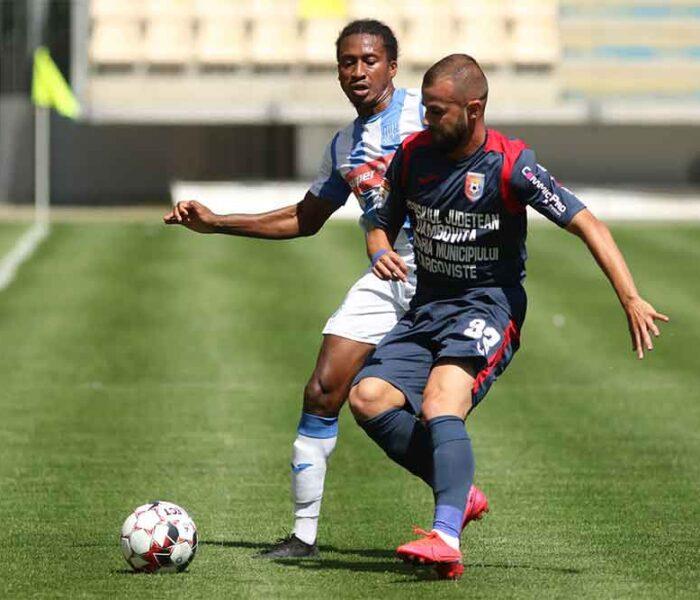 Fotbal Liga I: Chindia Târgovişte – CSM Poli Iaşi 0-2, în play-out