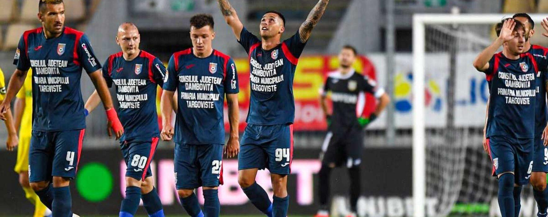Fotbal: Chindia Târgovişte şi-a păstrat locul în Liga I