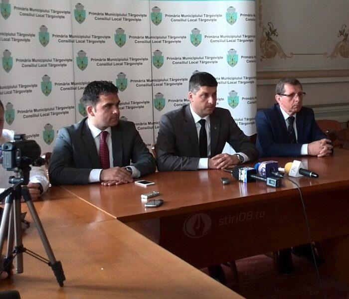 Primarul Târgoviştei, Gabriel Boriga, primele declaraţii după decizia instanţei (video)