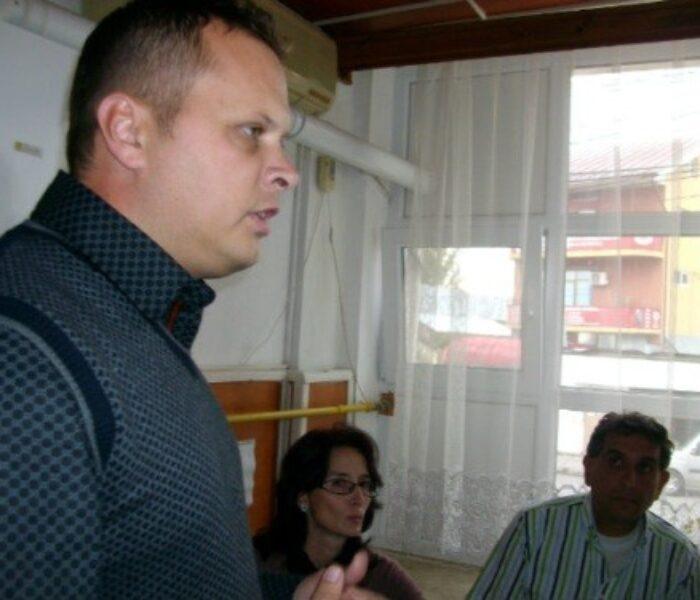 City managerul Târgoviştei a luat masa, joi, împreună cu persoanele fără adăpost