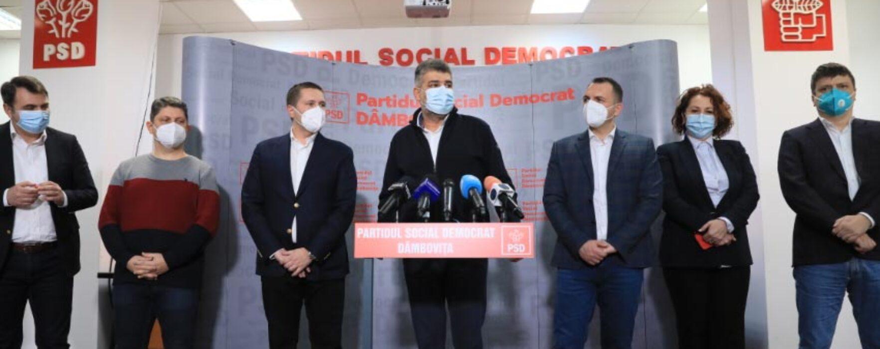 Ciolacu, întrebat la Târgovişte dacă are sentimentul că PSD mimează Opoziţia: PSD este în minoritate în Parlament
