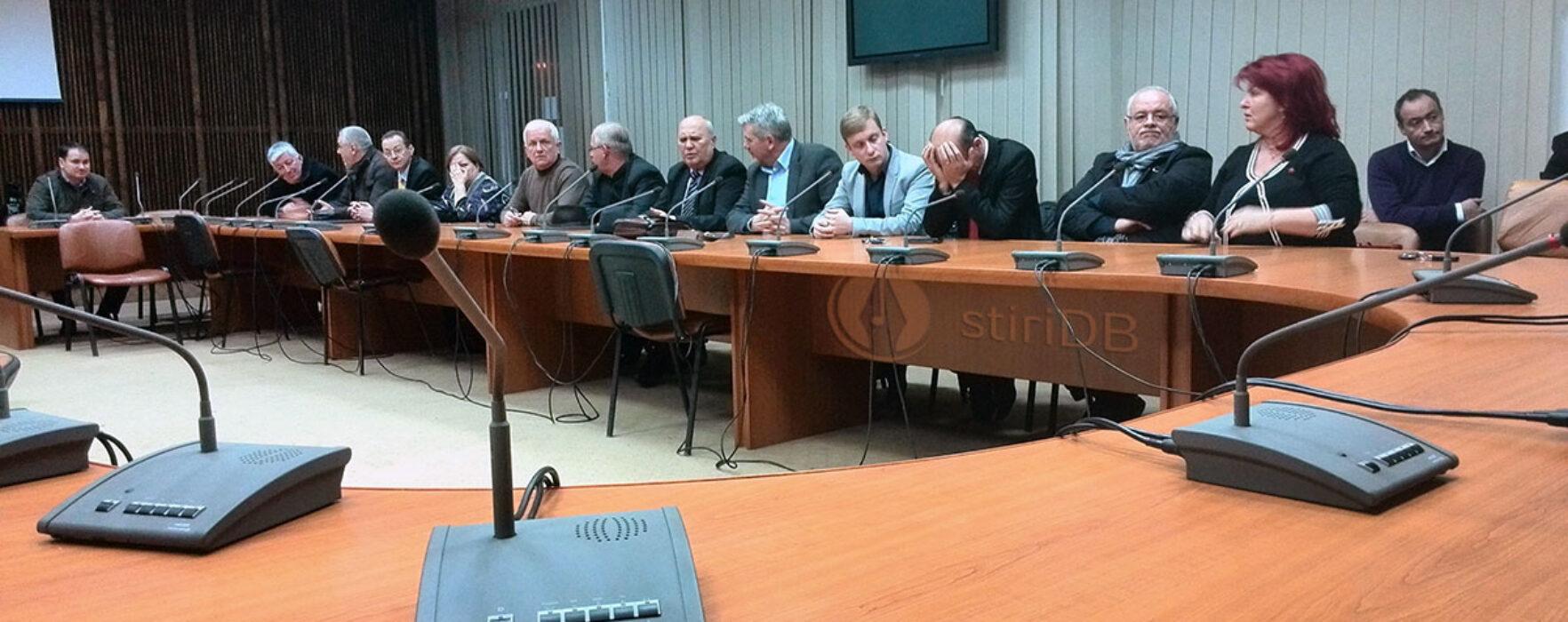 Şedinţa CJ Dâmboviţa convocată de PNL nu s-a ţinut din lipsă de cvorum