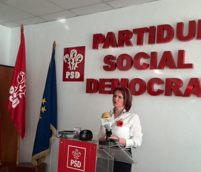 Claudia Gilia, propunerea PSD Dâmboviţa pentru alegerile europarlamentare