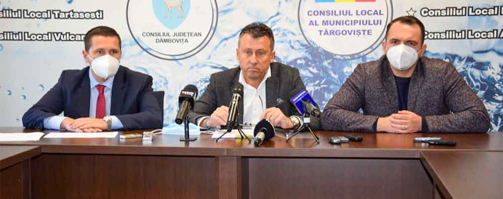 Dâmboviţa: 51 de localităţi vor beneficia de lucrări de apă şi canalizare cu bani europeni