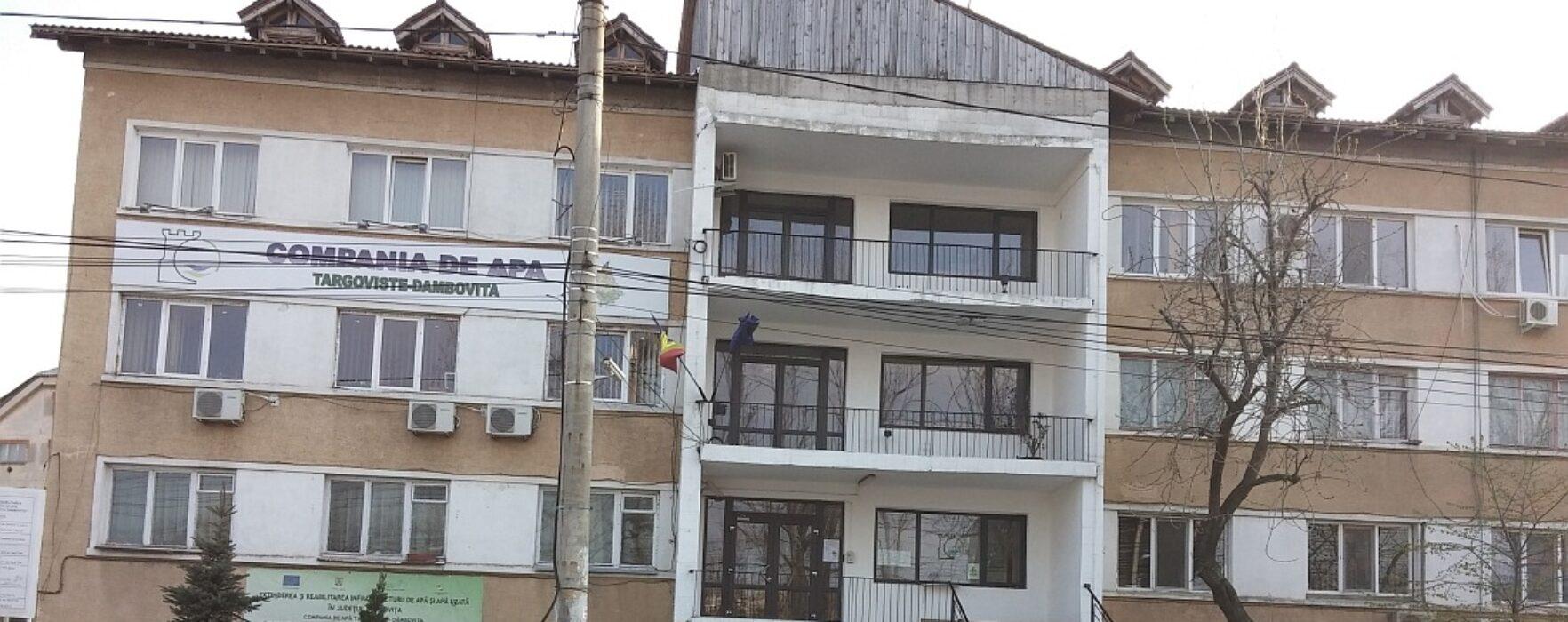 Dâmboviţa: Compania de Apă anunţă cu mare fast că a dat bani pe pregătirea pregătirii unei cereri de finanţare