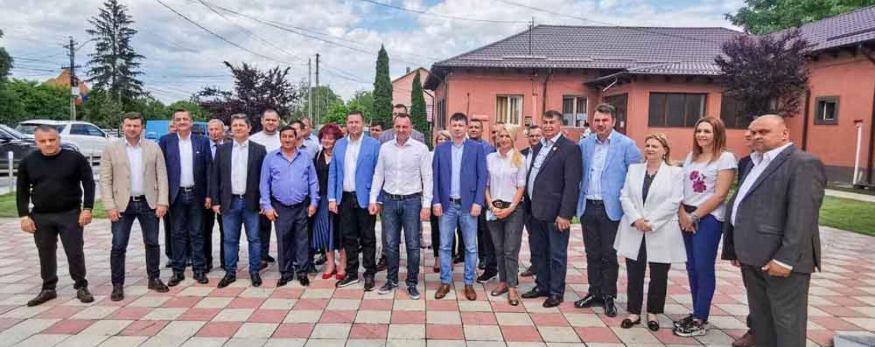 Candidaţii PSD Cojasca la consiliul local şi-au depus candidaturile