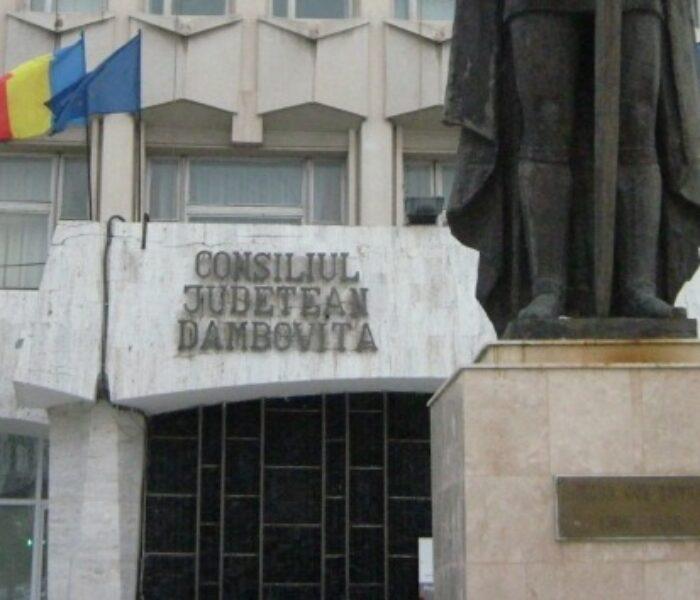 Consiliul Judeţean Dâmboviţa va organiza concurs pentru postul de administrator public
