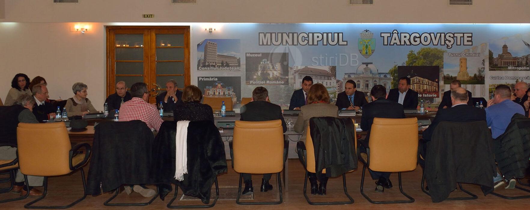 Târgovişte: Bugetul municipiului a trecut, cu amendamentele PSD