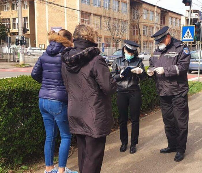 Târgovişte: 21 de persoane amendate de Poliţia Locală pentru încălcarea Ordonanţei Militare nr.3
