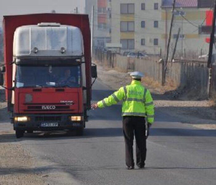 Maşinile cu masa mai mare de 3,5 tone, taxate pentru a tranzita municipiul Târgovişte