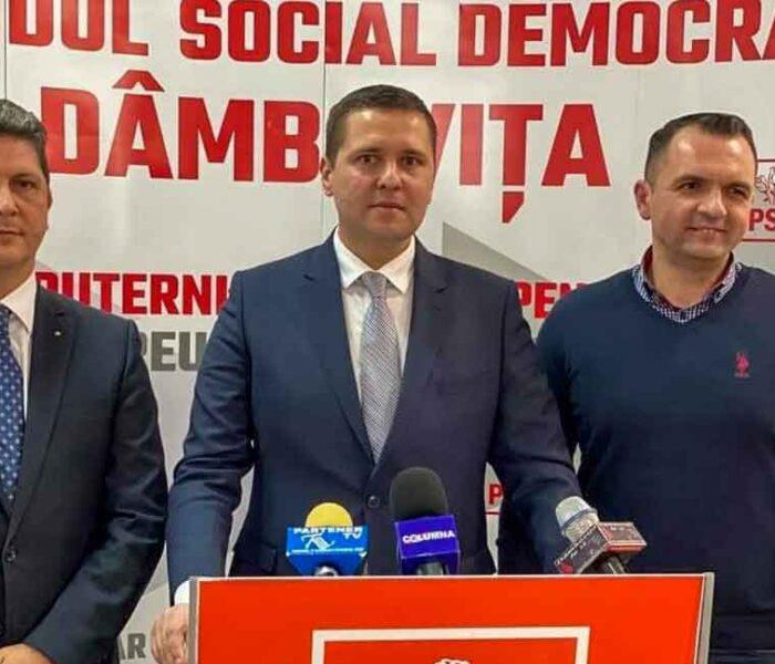 PSD Dâmboviţa: Social democraţii vor să susţină un candidat din partid la preşedinţia consiliului judeţean