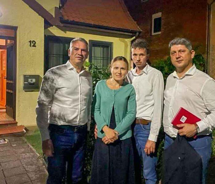 Misiune oficială în Germania în sprijinul familiei Furdui, despărţită de luni de zile de copii