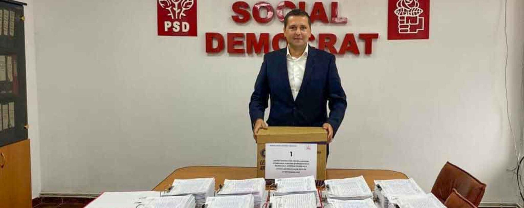 PSD Dâmboviţa: Peste 77.000 de semnături de susţinere
