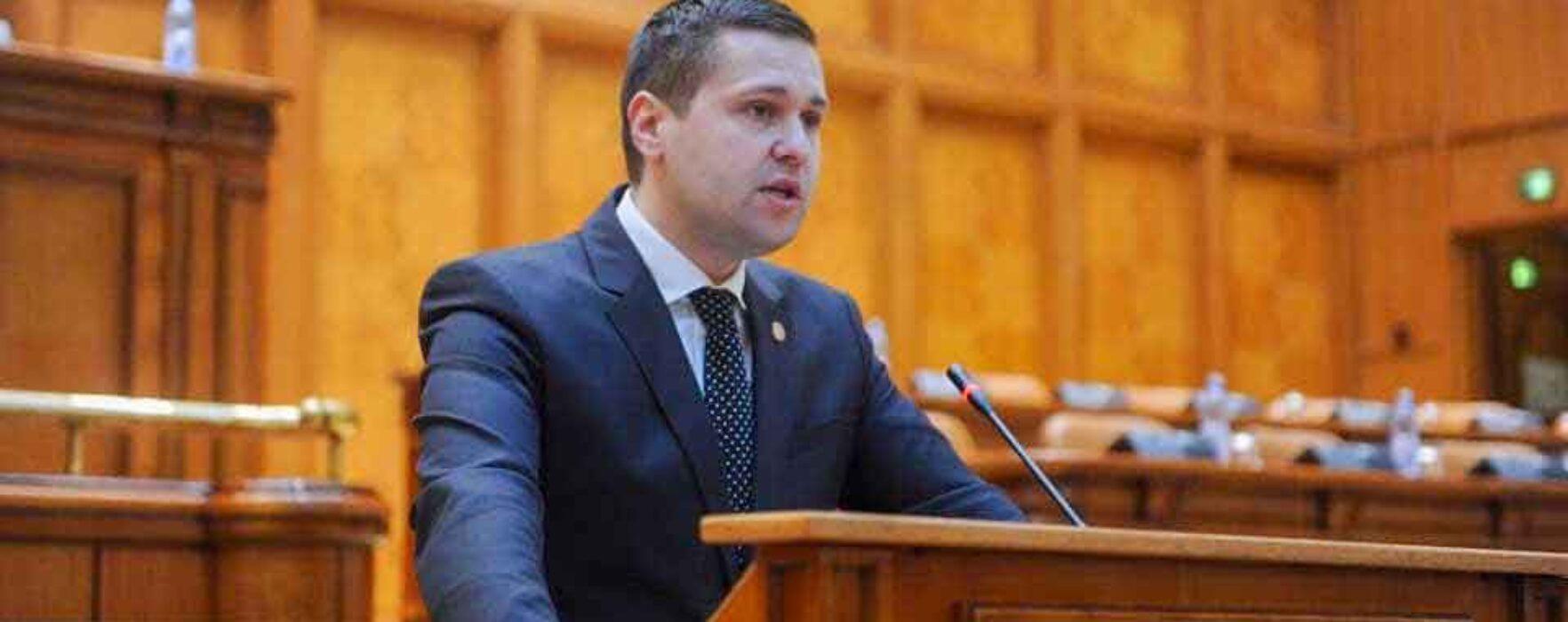Corneliu Ştefan încheie mandatul de deputat şi va prelua şefia CJ Dâmboviţa