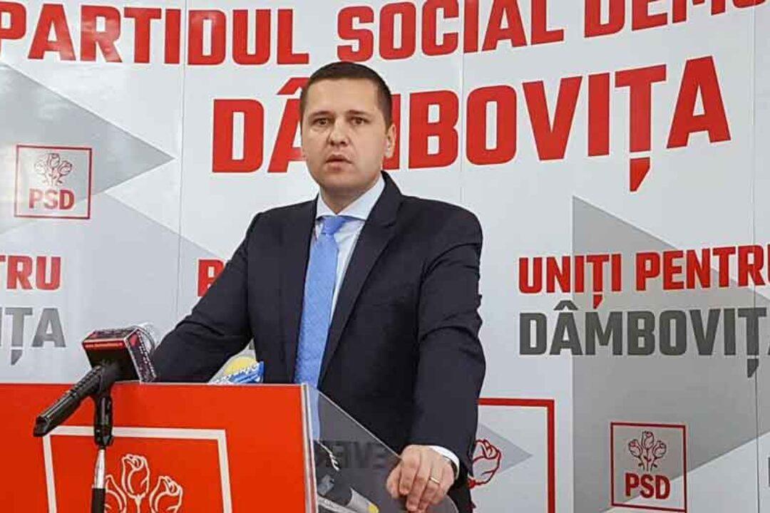 Corneliu Ştefan, preşedinte PSD Dâmboviţa: Solicit demisia prefectului