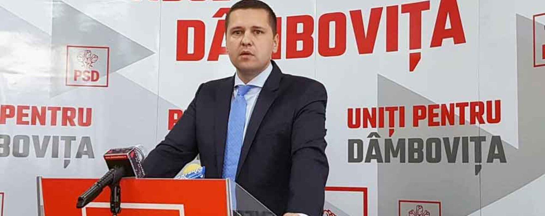 Corneliu Ştefan, PSD Dâmboviţa: Cîţu e o propunere neserioasă, nu va fi votat nici de PSD, nici de PNL