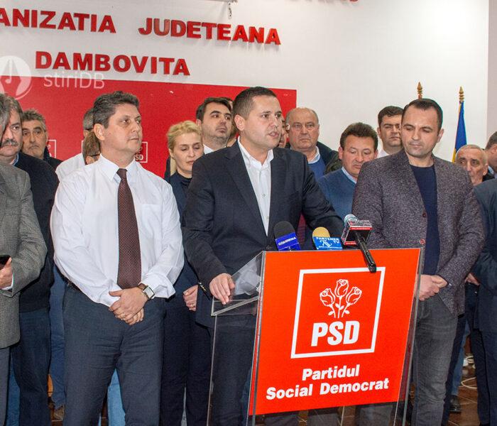 Deputatul Corneliu Ştefan: Candidez la preşedinţia PSD Dâmboviţa, Rovana Plumb trebuie să plece