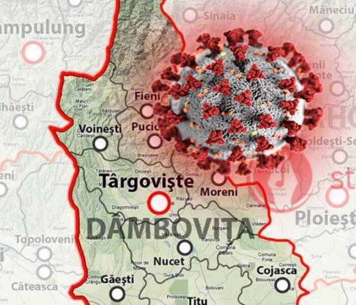 Dâmboviţa: Bărbatul cu coronavirus, din Corbii Mari, a murit (26 martie)