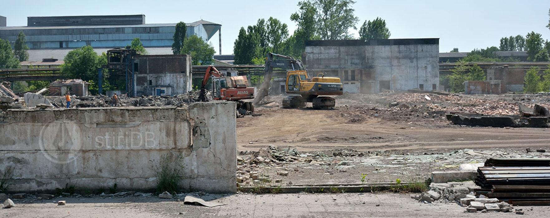 Cât teren e la COS Târgovişte şi la cât e evaluat