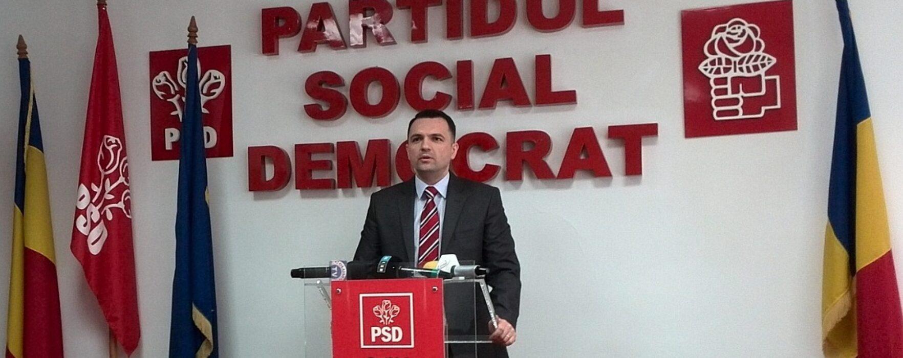 PSD acuză că îi sunt rupte afişele electorale în Târgovişte