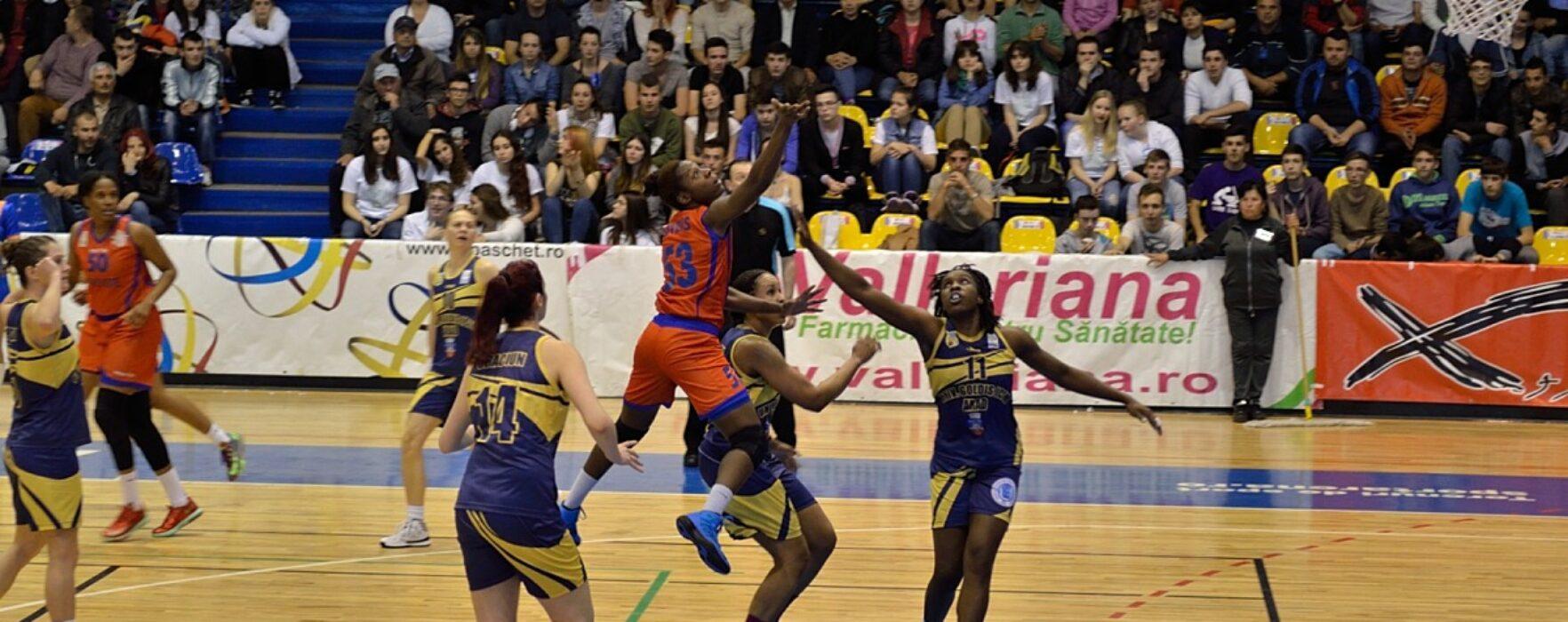 CSM Târgovişte a câştigat şi conduce cu 2-1 în finala Ligii Naţionale de Baschet Feminin