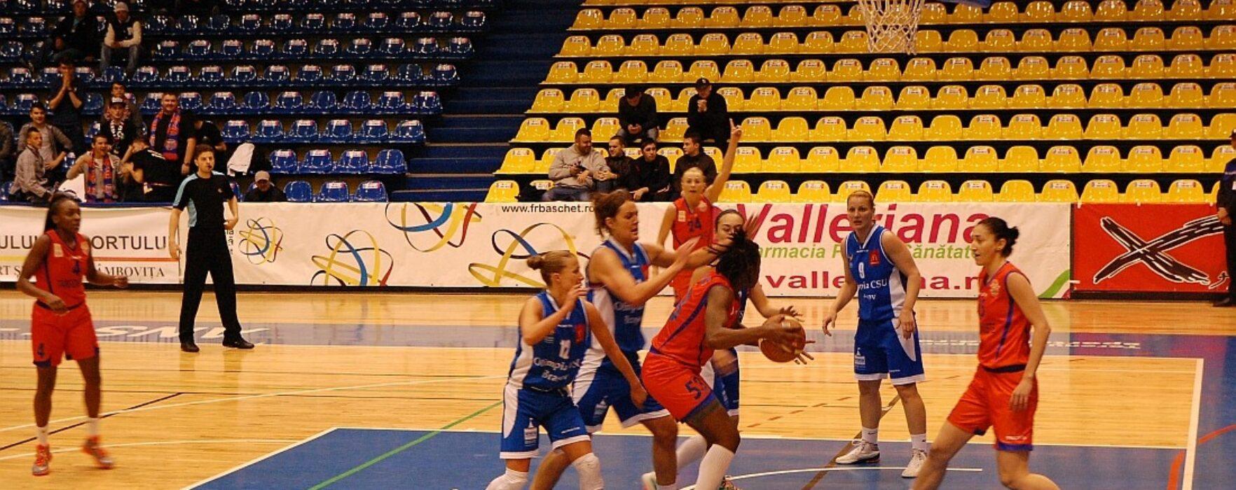 Baschet feminin: CSM Târgoviște – calificare în semifinale după victoria de la Brașov