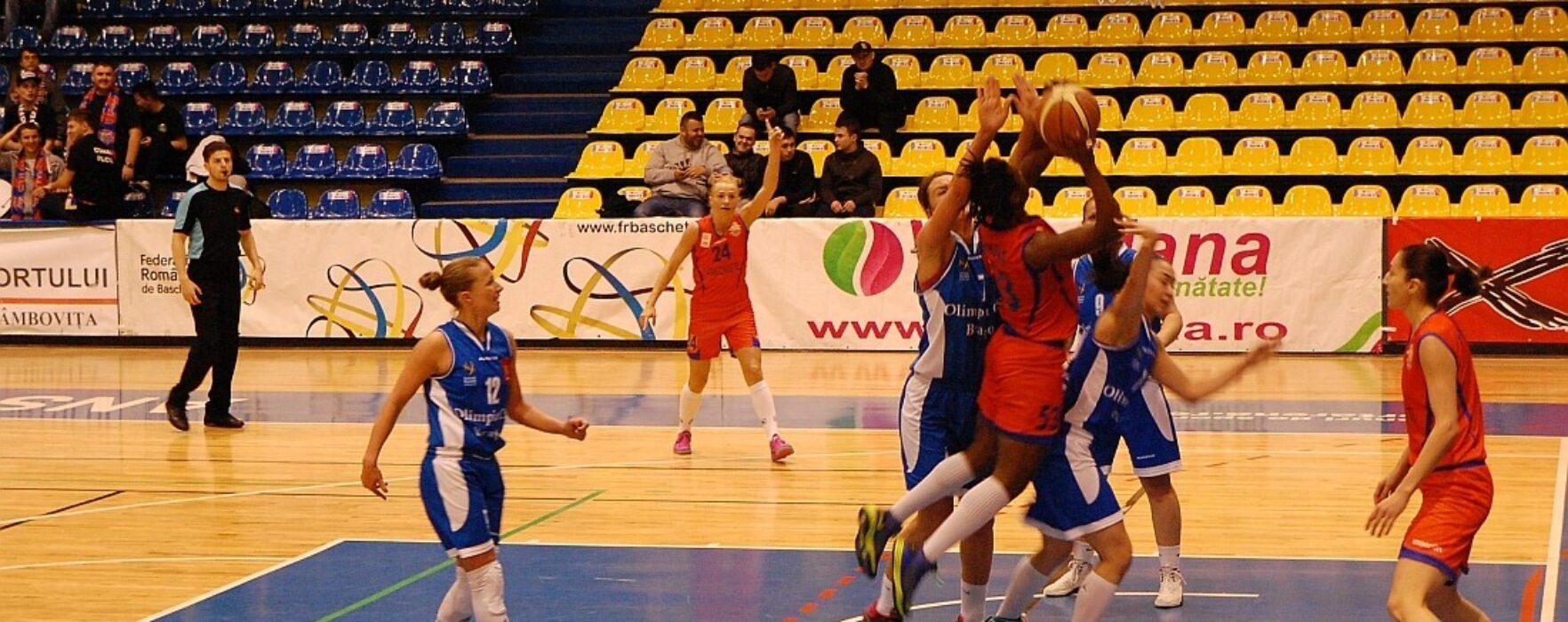 Baschet feminin: CSM Târgoviște a învins Olimpia Brașov (79-64) în primul meci din play-off