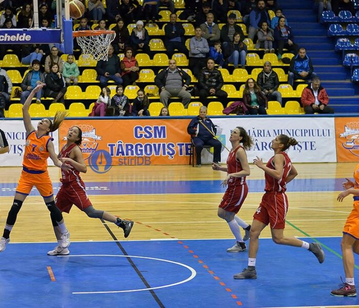Baschet feminin: CSM Târgovişte a câştigat partida cu CSM Satu Mare, 61-55