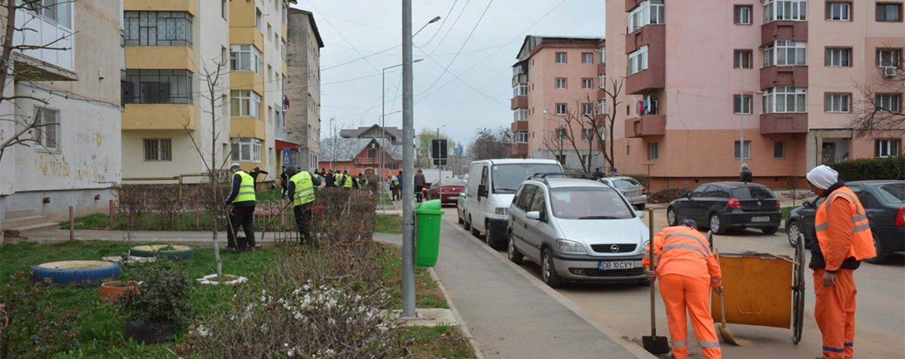 Primăria Târgovişte: Începe luna curăţeniei în municipiu