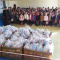 Arhiepiscopia Târgovişte: Daruri pentru copii din partea Parohiei Cătunu