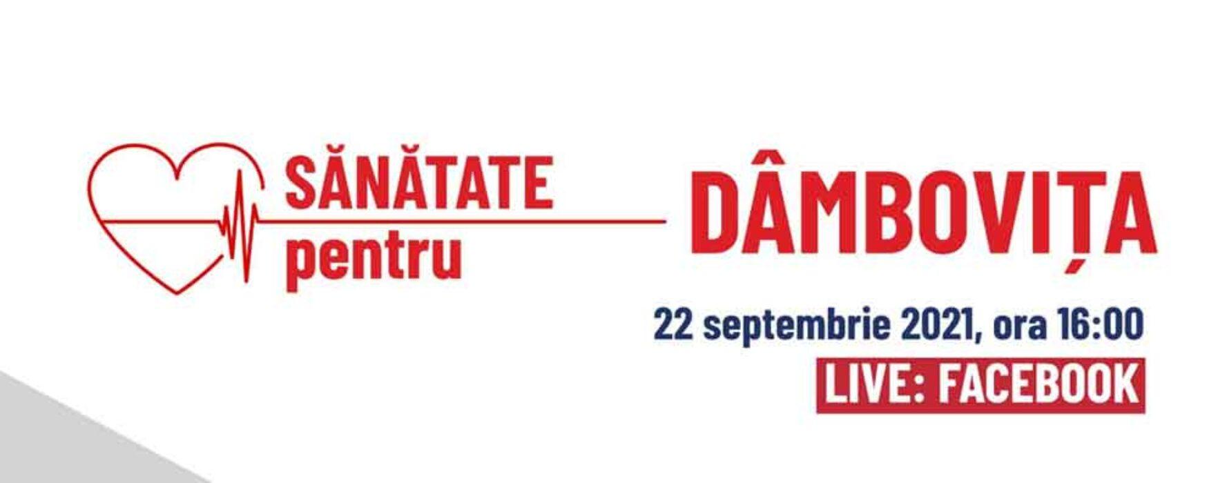 """""""Sănătate pentru Dâmboviţa"""" – dezbatere publică organizată de consiliul judeţean"""