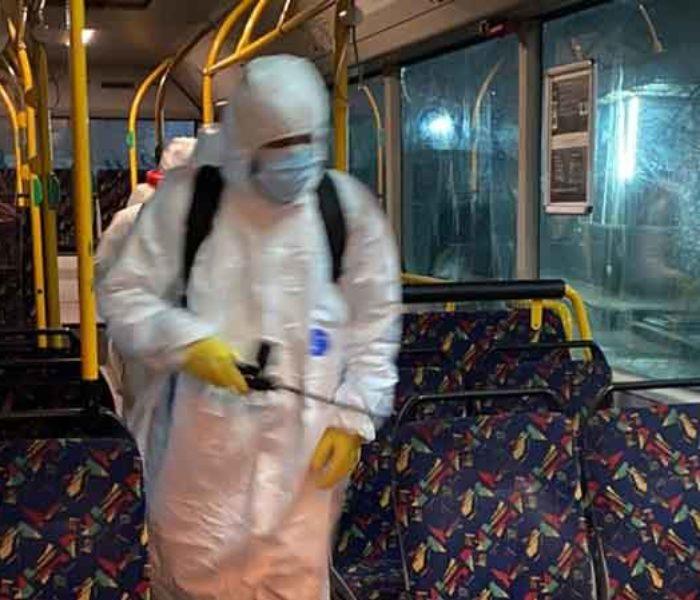 Cristian Stan, primar Târgovişte: Din această noapte mijloacele de transport în comun sunt dezinfectate