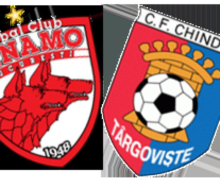 Fotbal: Dinamo Bucureşti – Chindia Târgovişte 5-0