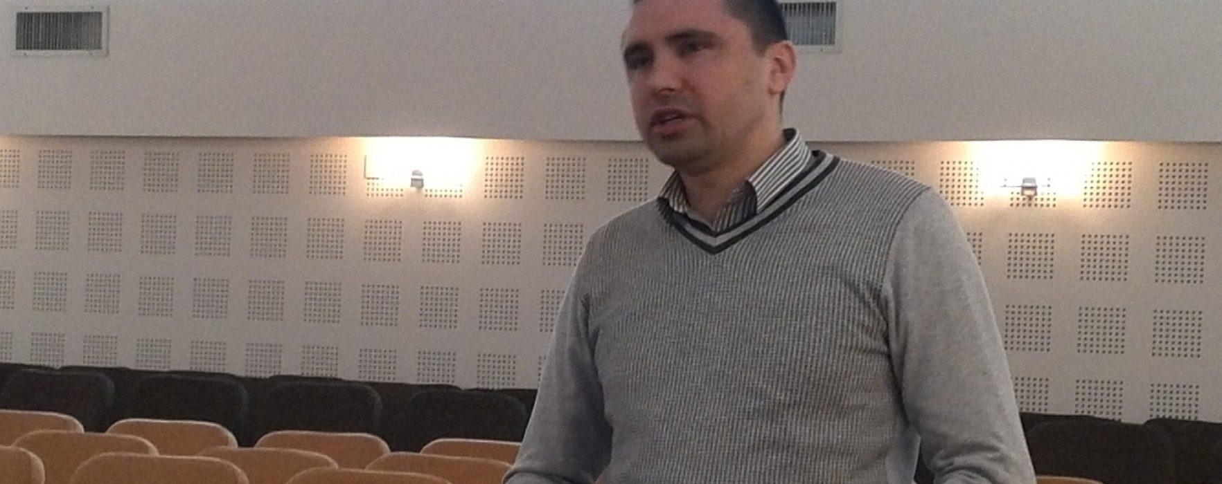 Ionuţ Eduard Beju, director interimar la Eco Sal 2005 Târgovişte