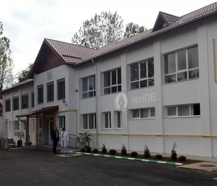 Dispensarul TBC al Spitalului Judeţean Târgovişte, inaugurat după lucrări de reabilitare