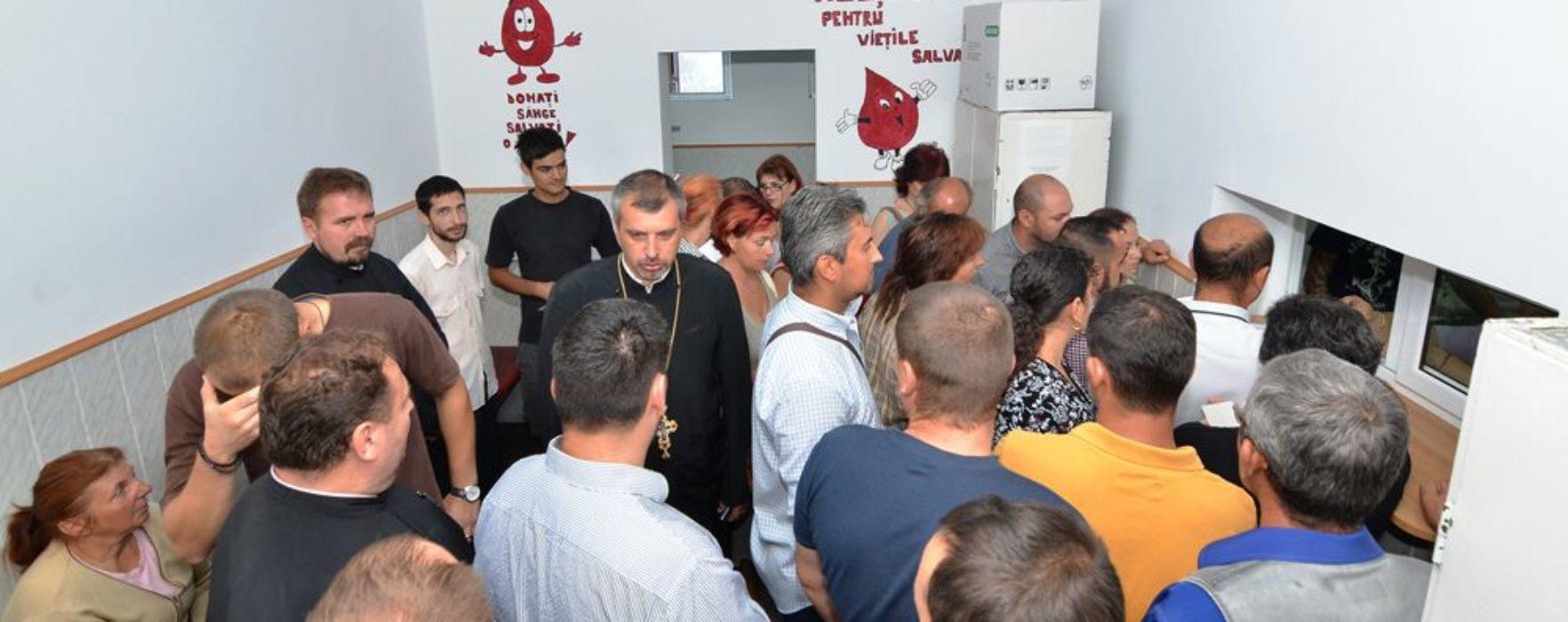 Arhiepiscopia Târgovişte: campanie de donare de sânge